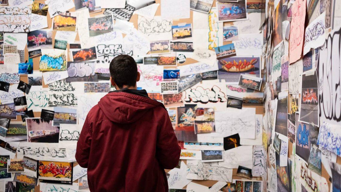 WALL-PAPER   Il graffiti-writing è storia