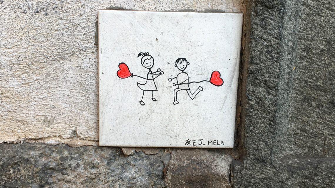 STREET ART CON AMORE | 3 opere di EJ Mela a Torino