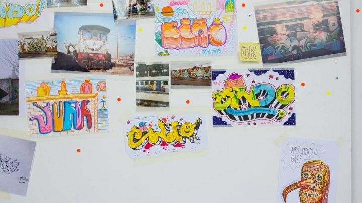 UNA CREW DI WRITER VISIONARI | Il Gruppo OK in mostra a Torino